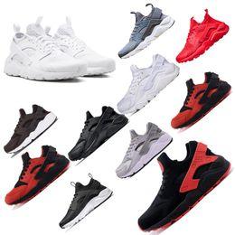 best sneakers 9433b 6c739 2019 huarache freier laufen Klassische Huarache-Laufschuhe 4 1.0 dreifache schwarze  weiße rote Laufschuhmänner Frauen