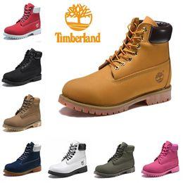 2020 sapatilhas da marca do desenhador dos homens Original Timberland botas Marca Homens Mulheres Designer Sports Vermelho Branco Inverno Sneakers TBL Trainers Casual Mens Womens ACE Luxo inicialização 36-46 desconto sapatilhas da marca do desenhador dos homens