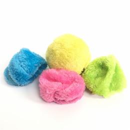 Palla di vuoto online-Robot spazzare automatico Pet Supplies Aspirapolvere Mocoro Hair Ball Carino peluche Spolverare Giocattoli scatola di colore 16 5sc W