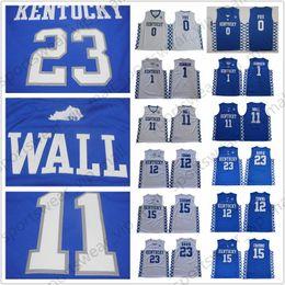 05c2a181608d monk jersey Canada - NCAA Kentucky Wildcats Jerseys College Basketball  DeMarcus Cousins Malik Monk Fox John