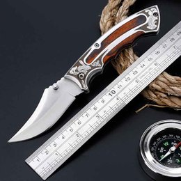 Wholesale field knives - Field Survival Tool Outdoor Knives Straight&Folding Tactical Knife High Hardness Multi-function Knife Field Defense Equipment D0146