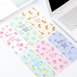 Wholesale Fruit Packs - Wholesale- 10 Pcs pack Cute Today Is Fruit Day Envelope Letter Paper Message Card Letter Stationary Storage Paper Gift