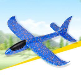 giocattoli volanti per i ragazzi Sconti Modello aliante fai da te Flying EPP Schiuma piano leggero a mano lancio aereo giocattolo bambini divertimento all'aperto regalo giocattoli per ragazzo ragazza bambini