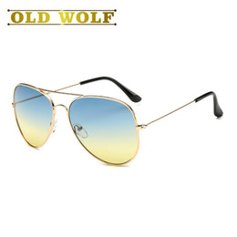 77f732c99fa Ocean Lens Glasses Classic Pilots Men Sun Glasses Metal Mujeres Gradient  Sunglasses 2017 Rays Summer Gradient Spectacles gafas de sol pilotos ray  baratos