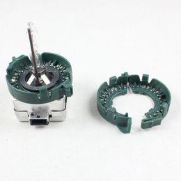 Wholesale Xenon Lenses - Refit convex lens car hid adaptor D1S D1R D1C Metal Clip Retainer base adapter D1 D3 D2S D4S holder HID Xenon Bulb Light Convert socket