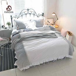 Wholesale velvet bedding sets - ParkShin Crystal Velvet Bedding Set Warm winter Bedspread Duvet Cover Set Cute Bed With Flat Sheet 4Pcs Twin Queen king size