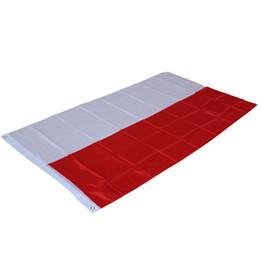 2019 polen-flagge 90x150cm Flagge von Polen - hängende polnische Staatsflaggen Büro im Freien / Tätigkeit / Parade / Festival / Innenhof-Dekorations-Fahne rabatt polen-flagge
