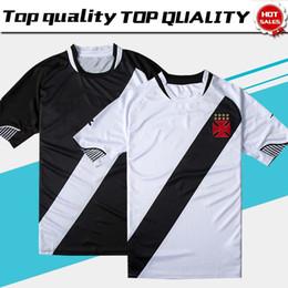 559adfa61 New 2019 Vasco da Gama Home Black Soccer Jersey 2018 Vasco da Gama Away  White Soccer Shirt 18 19 Customized Football Uniform Sales cheap vasco da  gama ...