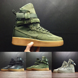 Wholesale Rubber Field - (With Box) Special Field SF For 1 One Men Women High Boots Running Shoes Sneakers Unveils Utility Boots Armed Classic Shoes 5.5-11