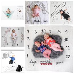 2019 fotos stoff 100 * 100 cm Neugeborene fotografie requisiten babydecke Hintergrund Blanket teppich babydecken Babys outdoor Foto stoffe MMA276 rabatt fotos stoff