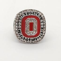 Campeonato do estado de ohio on-line-Transporte da gota de alta qualidade NCAA 2014 Ohio State National Championship Ring