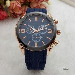 Relogio masculino AAA роскошные мужские часы Top brand часы дизайнер Emporio r черный синий часы браслет ремни пряжки Автоматическая дата часы от Поставщики браслеты r