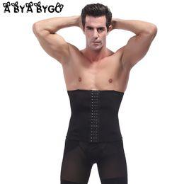 c97bbe2edb724 wholesale Mens Waist Trainer Body Shaper Shaping Summer Slim Underwear Tummy  Abdomen Shaper Hot Belly Slimming Shapewear for Men