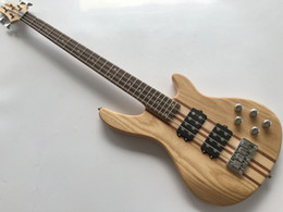 Wholesale Neck Through Body Bass Guitar - Custom OEM Factory Hot sell Professional active electric bass guitar neck through body bass guitar Musical Instruments free shipping