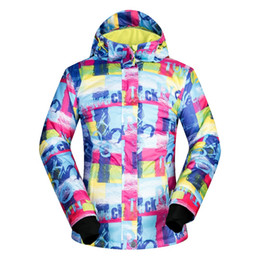 Giacca termica da neve stile nuovo impermeabile antivento cappotto escursionismo campeggio ciclismo giacca invernale da sci donne da
