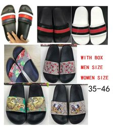 tamaño 35-46 2018 mujeres de calidad superior zapatillas de diseño sandalias clip de los pies del estilo del tirón tigre imprimir sandalias de diapositivas sandalias florales sandalias desde fabricantes