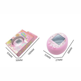 Wholesale Funny Displays - 2018 new! Tamagochi Pink Color display Electronic Pets Toys E-pet Infrared connection 90S Virtual Cyber Pet Funny baby toys