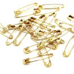 1700 pz di alta qualità spilla di sicurezza oro argento bronzo nero spille di sicurezza per indumento tag pins lunghezza (19mm) da telaio telaio fornitori