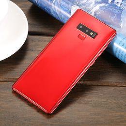 "Deutschland Goophone Note 9 Real Fingerprint 6,3 ""Vollbild MTK6580 Quad Core Android 7,0 Smartphone Rom 8 GB Ram 1 GB Dual Sim 3G entsperrt Handys Versorgung"