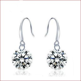 Oro indio 18k online-Conjunto de joyas de dama de honor de la boda cristal colgante, collar pendiente de la joyería del partido 18k oro joyería de moda africana