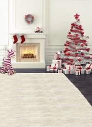 Wholesale Christmas Backdrops For Photography - ackground for photo Christmas Background Photography Backdrops Christmas Tree House balls White Wall Backgrounds For Photo Studio Kate B...