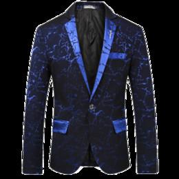 Chaqueta de traje CIGNA Brand Casual para hombre Black Wine Red Azul marino  Slim Fit Top de hombre Classic Tuxedo Chaqueta de hombre Flower Chaquetas  barato ... 37ad6ae4e89