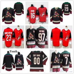 keith tkachuk jersey 2019 - Vintage Arizona Coyotes Hockey Jerseys 19 Shane  Doan 23 Oliver Ekman faca411bd