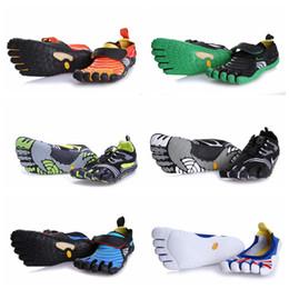 Wholesale cut fingers - KMD Evo Cross Five Finger Shoes Running Training Shoes Fashion Tourism Multicolor Sports Shoes