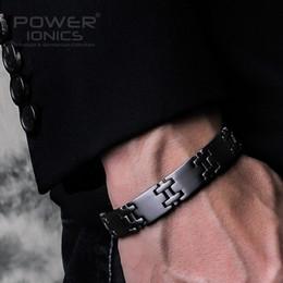 2019 kinder armbänder schwarz rot 100% reines Titan mit NdFeB Neodym Magnetfeldtherapie Armband PT062
