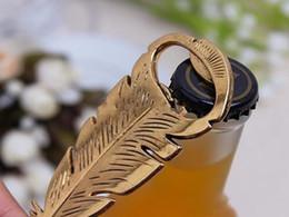 apri di bottiglia elegante all'ingrosso Sconti Trasporto libero + piume all'ingrosso del pavone Apribottiglie Favori di nozze e regali forniture di nozze eleganti Favori di partito all'ingrosso