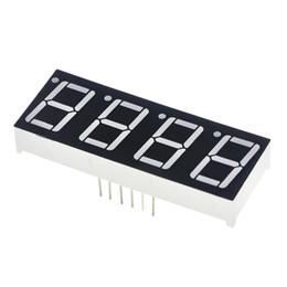 Affichage rouge de chiffre de LED du tube numérique de cathode commune de 0.56inch 4bit 7 segment 0.5inch 0.5 0.56 pouce 0.56 '' 0.56in. 4 quatre bits ? partir de fabricateur