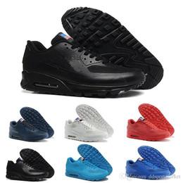 watch 1abd8 103c9 Nike AIR MAX AIRMAX 90 90 Scarpe da ginnastica da uomo HYP PRM QS da uomo  Independence Day Casual Scarpe da corsa Zapatillas USA Formato 40-46