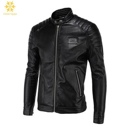 Wholesale Force Leather Jacket - Air Force Pilot Motorcycle Coat Faux Fur+leather Jacket Trench Coat Calipso Ogygia Brand New Metal Sequined Mens Warm Plus 5XL