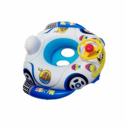Wholesale cars for babies - Baby Swimming Seat Inflatable float seat for Kids Toddler