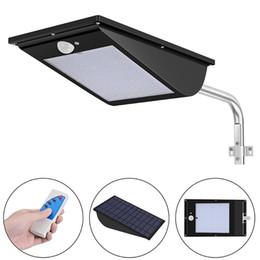 Wholesale Integrated Solar - Umlight1688 High Quality Power Outdoor IP65 1000 Lumen 81 110 Leds integrated solar street light Motion Sensor Solar Lamps