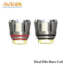 Ijust coils en Ligne-Eleaf Ello Duro Bobine HW-M 0.15ohm HW-N 0.2ohm Bobine de rechange pour iJust 3 5 / paquet 100% d'origine