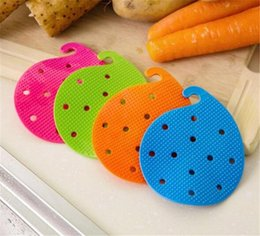 Wholesale Vegetable Fast - 2018 Wholesale Fruits Vegetables Potato Washing Protection Cleaning Brush Wholesale Cheap Kitchen Tools Fast Free Shopping