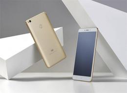 Wholesale Xiaomi Unlock - Unlocked Original Xiaomi Mi Max 2 Max2 Mobile Phone 4GB RAM 64GB ROM Snapdragon 625 Octa Core 6.44inch 12MP Fingerprint 4G LTE Cell Phone