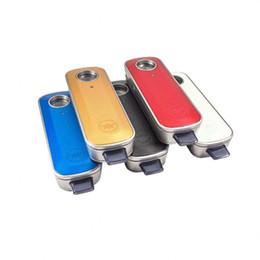 Chorros de kit online-Firefly 2 Vaporizer Kit Portable Wax Dry Herb Pen Control de temperatura FireFly 2 Vaporizadores Jet Black con paquete al por menor