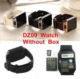 Камера вызова онлайн-DZ09 смарт-часы для apple android watch Q18 GT08 smartwatch для iPhone Samsung смартфон с камерой набора номера ответа на вызов Passometer нет коробки