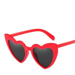 Wholesale Vintage Heart Shaped Glasses - Love Heart Sunglasses Women Cat Eye Vintage Sun Glasses Birthday gift Heart shape Party Glasses for Women Driving UV400