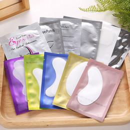 Wholesale thin eyelash - Thin Hydrogel Eye Patch for Eyelash Extension Under Eye Patches Lint Free Gel Pads Moisture Eye Mask 3001204