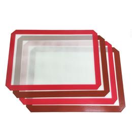 Große Nahrungsmittelgrad-Küchen-Silikon-kochende Auflagen hitzebeständige flexible Antihaft-Silikon-Backmatte 42 * 29,2 CM von Fabrikanten