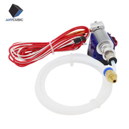 Wholesale 3d metal printer - V6 All metal J-head Hotend Bowden Extruder Full Set with Fan, 12V Heater,PTFE Tubing for 0.4mm 1.75mm Bowden for 3d printer