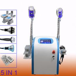 Wholesale laser lipolysis machines - New Promotion 5 In 1 lipo laser machines cavitation body face rf lipolysis weight loss slimming machine