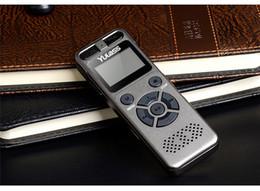 lettore mp3 al litio Sconti Yulass 8GB Professional Audio Recorder Business Portable Digital Voice Recorder Supporto USB multi-lingua, scheda Tf a 64 GB