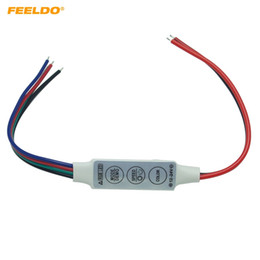 2021 módulo led intermitente FEELDO 2 UNIDS Coche DC12V ~ 24V LED Flasher Module Flash Strobe Controller Con Connecotr de 4 Cables Para Tira de Luz LED # 3965 rebajas módulo led intermitente