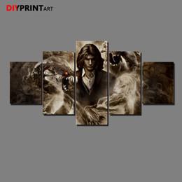 знаменитые картины Скидка Темнота 2 Джеки Дженни 5 панель современного искусства плакат настенные фотографии для гостиной A1176