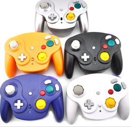 Jogos de gamecube on-line-2.4 Ghz Wireless Game Controller Gamepad Para Gamecube NGC Wii (Wii U Interruptor com adaptador)