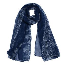 Charmant foulard femme Lady Impression classique foulard foulards protection du soleil en écharpe foulard en écharpe foulard femme cadeau # 5 ? partir de fabricateur
